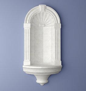 decor niche n303 3d model