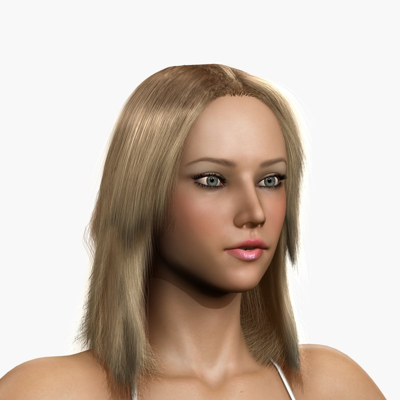3dsmax woman body