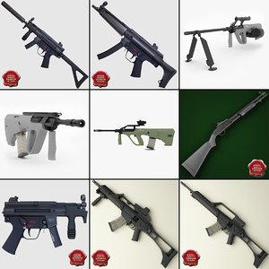 3d machine guns 3