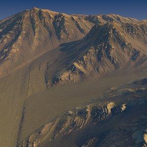 3d terrain maps model