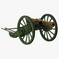 Napoleons 12-pdr Gribeauval Field Gun Firing Position v2