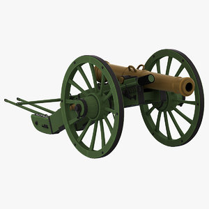 3d napoleons 12-pdr gribeauval field model