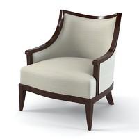 Nora Lounge Chair Barbara Barry for Henredon