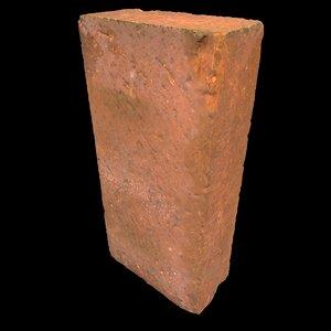 3d scanned brick model