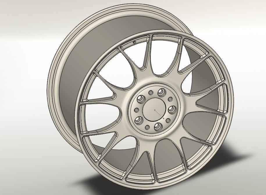 wheel solidworks 3d 3ds