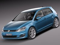 Volkswagen Golf VII 2013 5-door