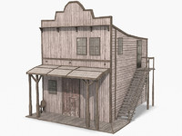 western house games 3d max