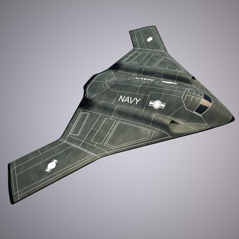stealth bomber 3d max