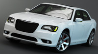 3d model chrysler 300c srt8 2012