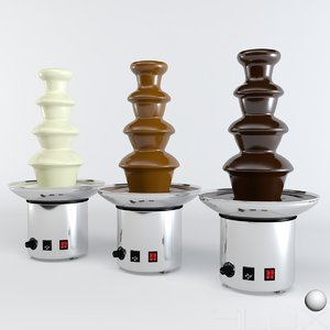 chocolate fountains 3ds