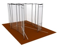 Olympic hammer cage