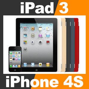 3d model apple iphone 4s new