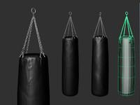3d punching bag model