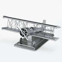 3d max decor airplane