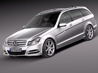 Mercedes-Benz C class Estate 2012