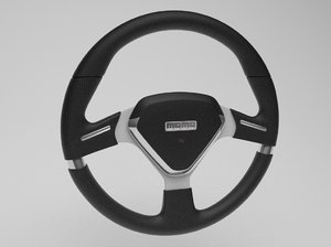 3ds max steering wheel