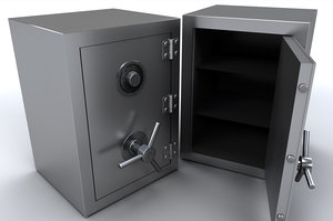 3d steel safe box
