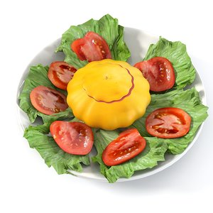 3d summer dish