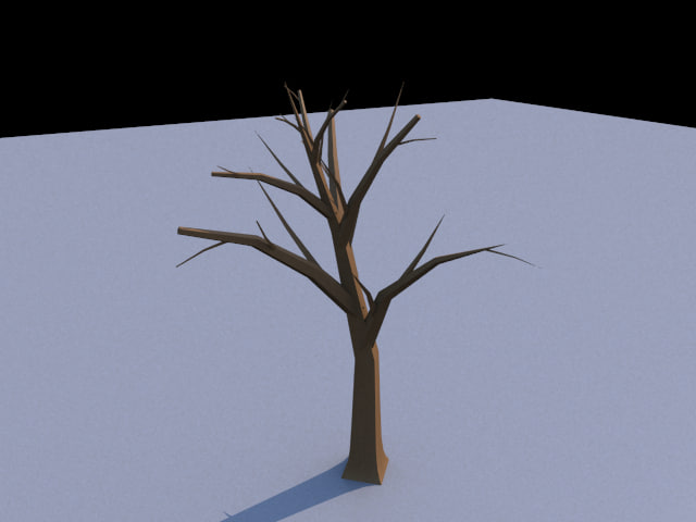 free 3ds model tree arbaro cheetah