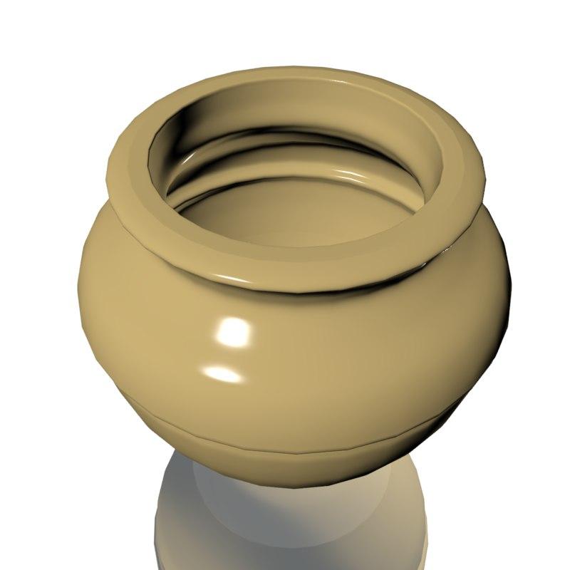 3d 3ds ceramic vase