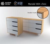 cabinet mandal 3d max