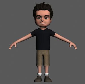 cartoony boy character ma