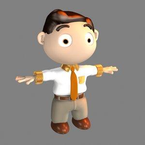 homuncule cartoon likability 3d max
