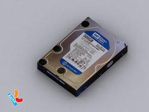 harddisk disk 3d 3ds
