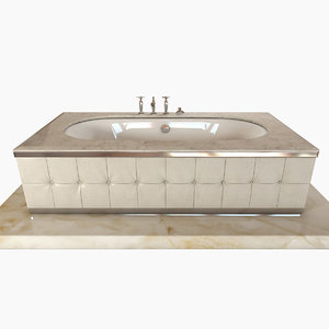 bath bathtub seasons 3d model