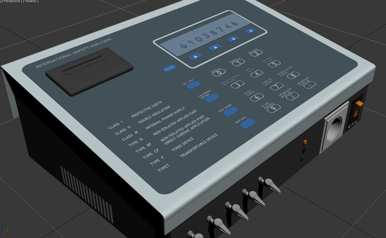 3d electrical safety analyzer