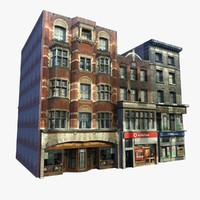 Low Poly Shopfront 3