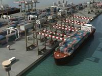 3d port model