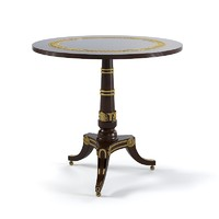 Baker George Bullock Pedestal Table 5359