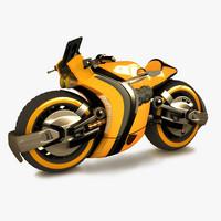 Sci Fi Racing Bike