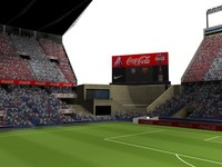 3d model vicente calderon audience