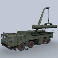 3d model transporter loader club-m