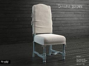 chair dialma brown db001842 3d max