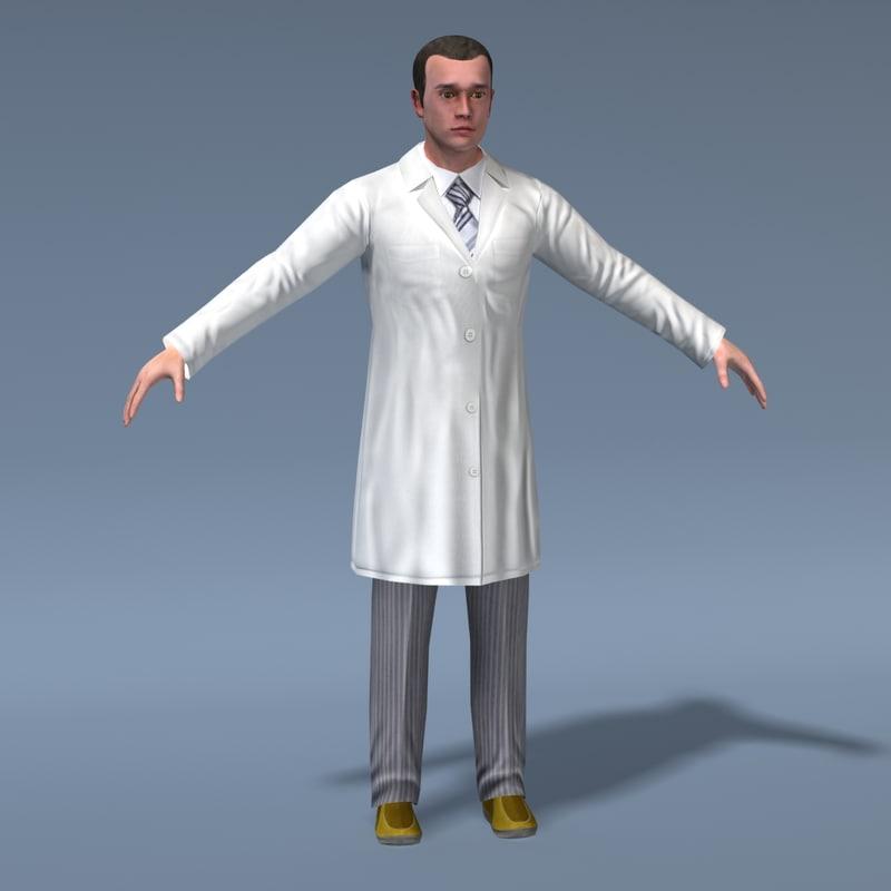 maya doctor male human