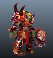 Genghis Kong Orc Game Model