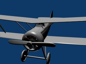 free blend mode hanriot 1 fighter