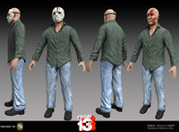 3d jason voorhees friday model