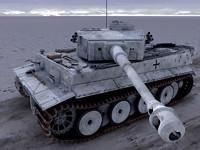 tiger tank 3d max