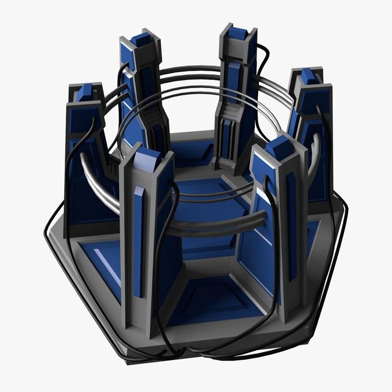3d model device parts