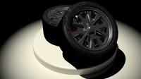 Muscle Car Wheel
