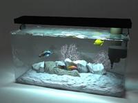 marine aquarium 3d max