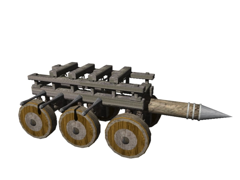 3d battering ram
