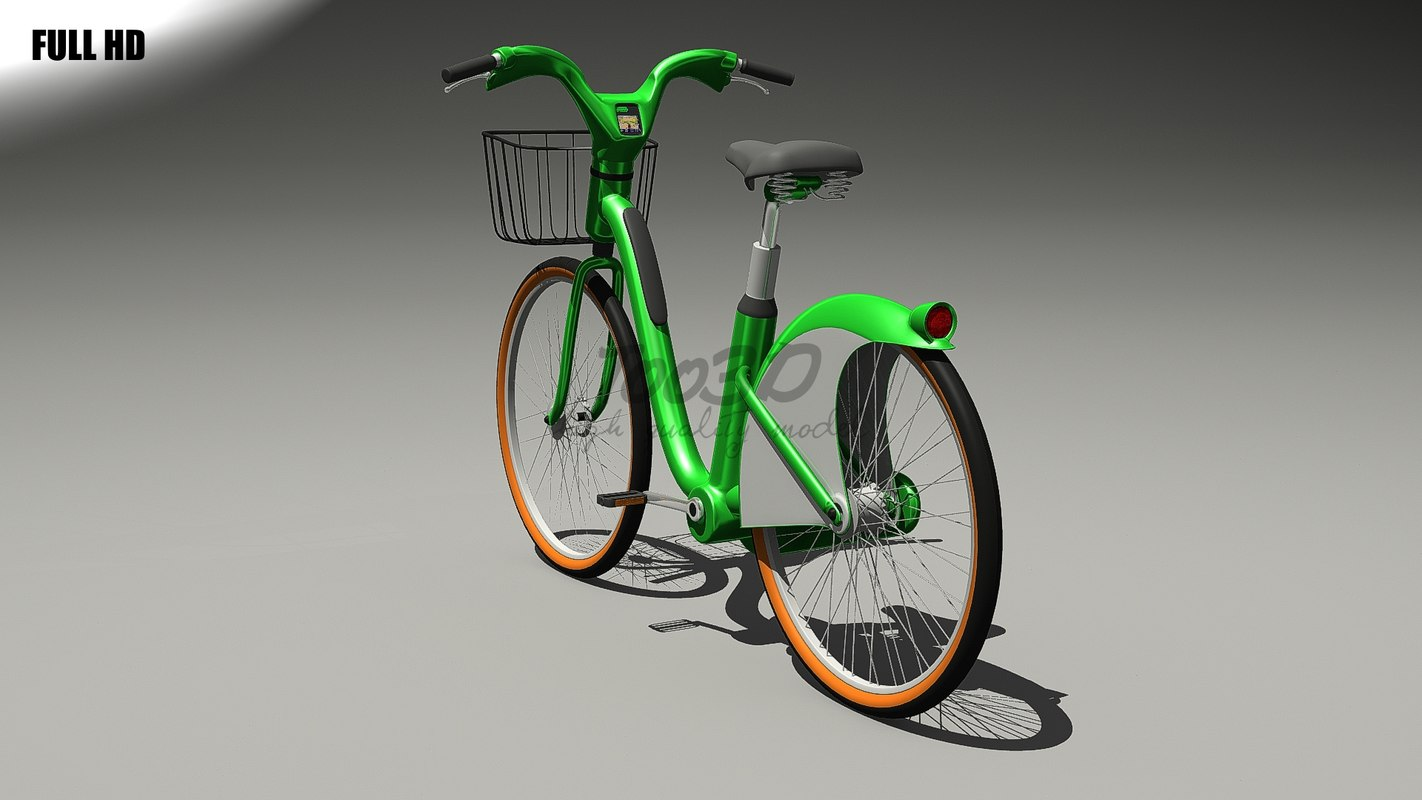 3ds max electric bicycle