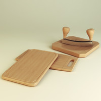 3d cutting boards chopper