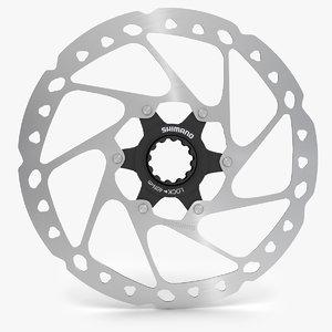 brake disc shimano slx 3d max
