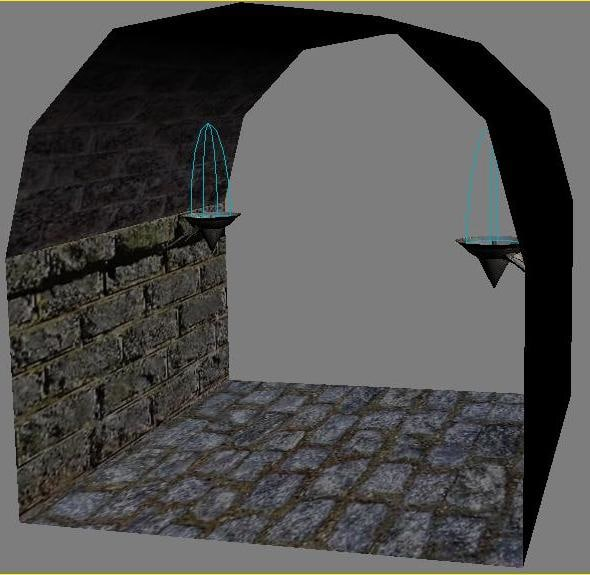 dungeon parts 3d max